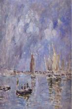 Eugène Boudin, l'atelier de la lumière