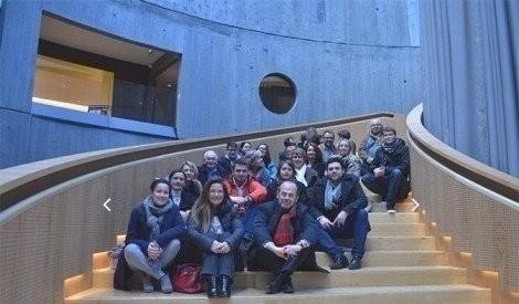 Com-estuaire visite de la bibliothèque Niemeyer
